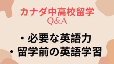 海外留学:子どもの中高校留学前に出来る英語の勉強ってなんですか?に回答