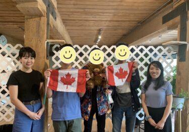 日本の高校留年なしでカナダ1年高校留学!5名の生徒さんがオフィス面談に来てくれました♬
